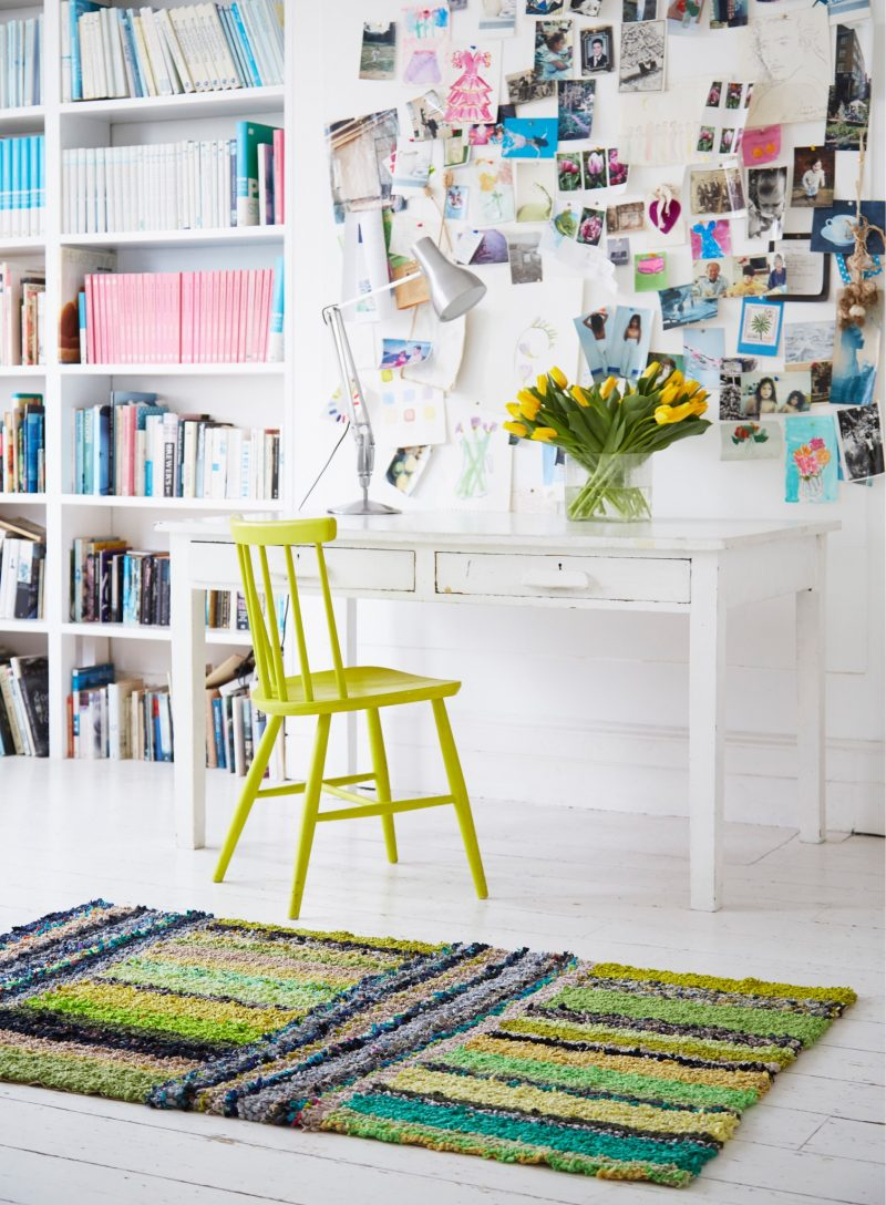 Contemporary rag rugs from Ragged Life