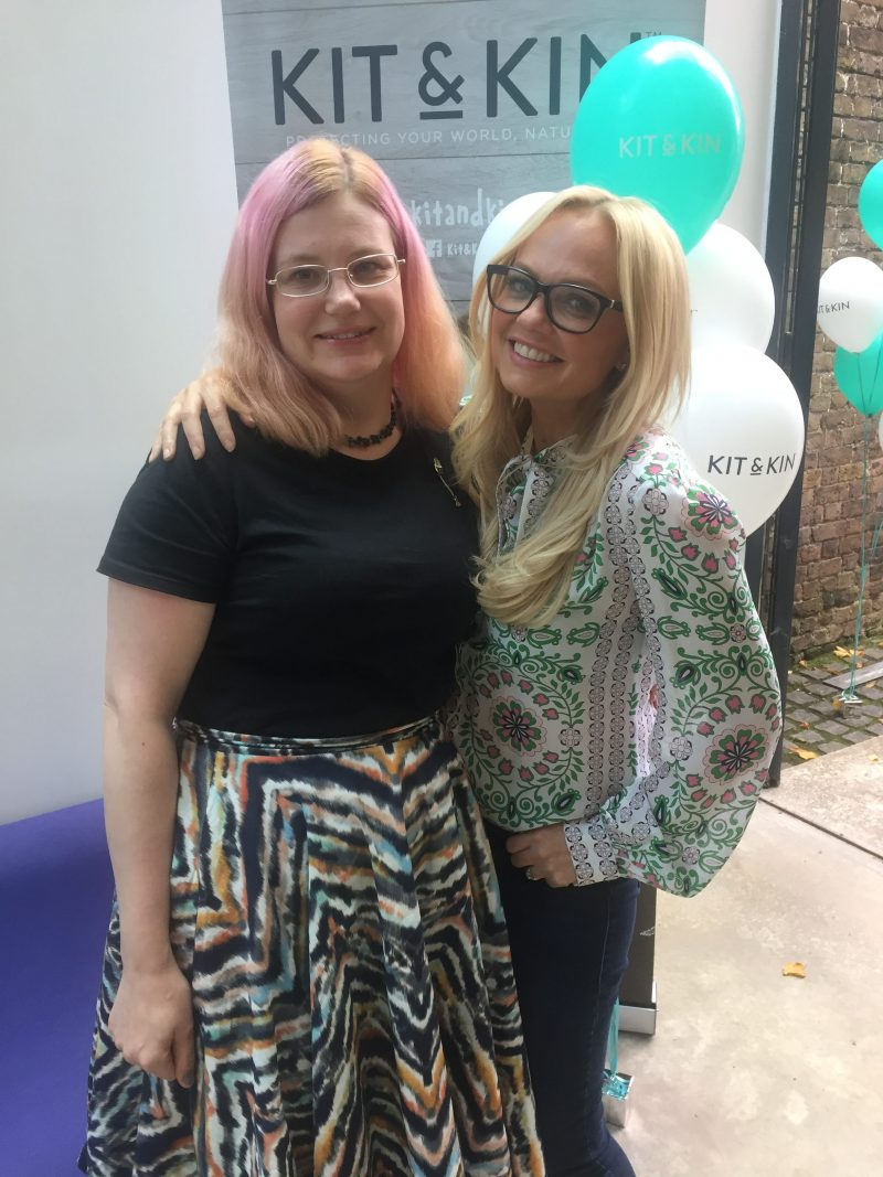 How I met and interviewed Emma Bunton!