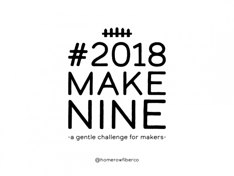 Are you taking part in Make Nine in 2018?