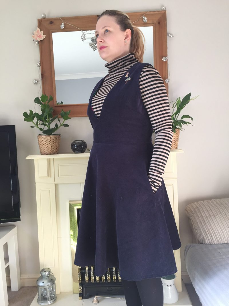 Turtleneck and dress made from Simplicity 1325