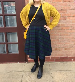 No Zip Circle Skirt | Thimble End